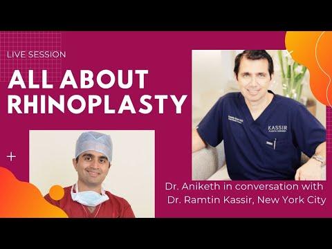 Rhinoplasty- talking to the experts! (Live). India Rhinoplasty. Venkat Center Bangalore