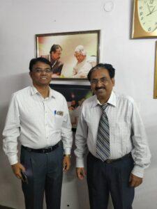 Dr. Ramesh from Gujarat underwent training at the Venkat Center