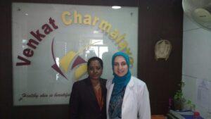 Staff at Venkat Center